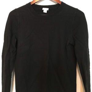 J. Crew Factory Teddie Cotton-Wool Crew Sweater